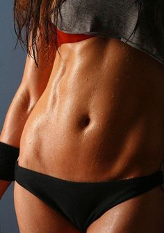 Quick Ab Workout:  Crunches, Reverse Crunches, Side Crunches -- perform 15+ reps for each exercise as a circuit for 10 minutes.