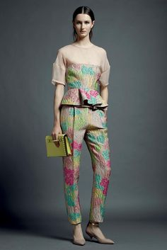 Mike Kagee Fashion Blog: VALENTINO RESORT PRE-SPRING 2013 COLLECTION