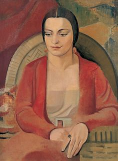 Grace Crowley - Portrait of Gwen Ridley, 1930 Australian Painters, Australian Artists, Contemporary History, Abstract Words, Portraits, Painting People, Crowley, Art Market, Female Art