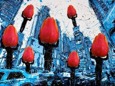 TulipMan takes blue NY (click on images if you want this one)