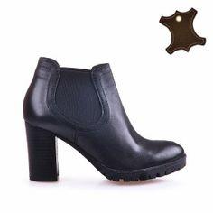 Промо Кожа :: Дамски обувки от естествена кожа Booty, Ankle, Shoes, Fashion, Moda, Swag, Zapatos, Wall Plug, Shoes Outlet