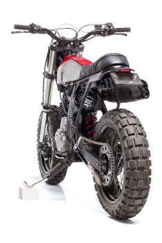 Honda by dreamwheelsheritage Honda Bikes, Honda Motorcycles, Custom Motorcycles, Custom Bikes, Tracker Motorcycle, Enduro Motorcycle, Motorcycle Design, Dominator Scrambler, Retro Bike