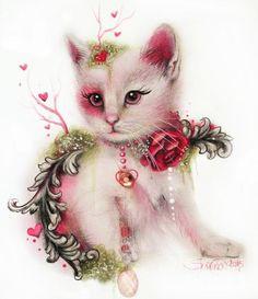 www.facebook.com/... Copyright of ©Sheena Pike Tea Series PanPastel & Colored Pencil -