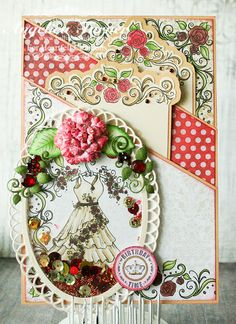 Heartfelt Creations Birthday Time Pocket Card