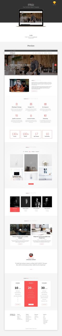 "Check out my @Behance project: ""PAMPLET - Free Portfolio Sketch Template"" https://www.behance.net/gallery/50735531/PAMPLET-Free-Portfolio-Sketch-Template"