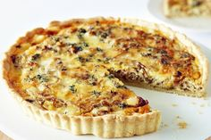This vegetarian savoury tart combines delicious Mersey Valley cheddar, cream, butter and thyme herbs.