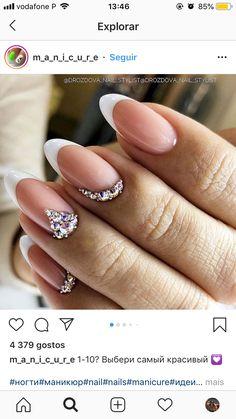 Sexy Nail Art, Pink Nail Art, Sexy Nails, Cute Acrylic Nails, Fun Nails, Bridal Nails, Wedding Nails, Iris Nails, Long Square Nails