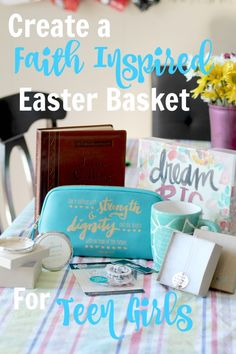 15 christian easter basket gift ideas for any child youth or how to create a faith based easter basket for a teenager easter basketsteen negle Gallery