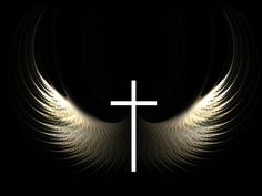 images of cross   Christian Graphic: Cross and Wings Wallpaper - Christian Wallpapers ...