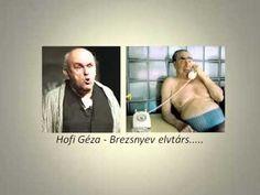 Hofi - Brezsnyev elvtárs - YouTube Humor, Tv, Funny, Youtube, Humour, Television Set, Funny Photos, Funny Parenting, Funny Humor