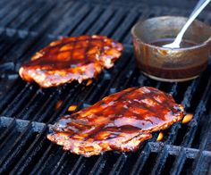 Grilled Chicken with Balsamic Barbecue Sauce - Cooking Classy