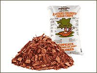 Try cedar chips. Try using cedar chips for protection outside. Fleas are repulsed by cedar chips because they hate the smell and will do their very best to avoid it. Go to the garden store and get two large 0.5 cubic ft bags of cedar chips and sprinkle it throughout the areas where the dogs will be. If you mow, do it before the first mowing, this way the chips are cut into a finer powder that works well.