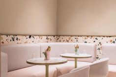 uses Italian terrazzo to create timeless design for new cafe in the Dubai Mall Design Mena Pub Design, Mall Design, Coffee Shop Design, Restaurant Design, Interior Design Jobs, Commercial Interior Design, Commercial Interiors, Interior Architecture, Design Interiors