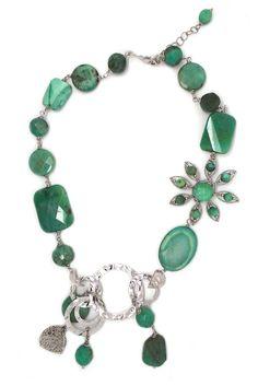 #necklace #jewelry Collana in Agata - CLN 015