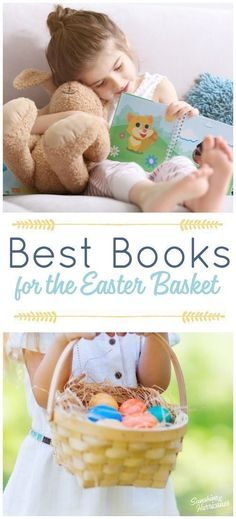 Best Books for the Easter Basket. Tons of Easter books for toddlers to older kids. Board books, picture books and even chapter books your kids will love reading! via Sunshine and Hurricanes Easter Books, Easter Religious, Toddler Books, Toddler Stuff, Preschool Books, Kids Board, Books For Teens, Easter Crafts For Kids, Picture Books