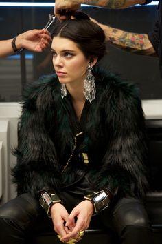 b6b9d253 fashion elegance luxury beauty — Kendall Jenner Source:listal.com Emerald  Green Earrings,