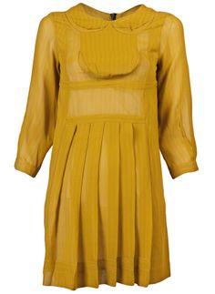 Mustard Dress by Peter Jensen