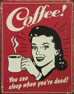placas retrô coffee - Pesquisa Google