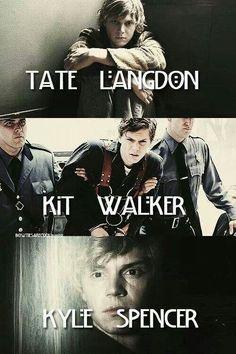 Tate, Kit, Kyle