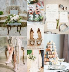 Timeless French Elegance Wedding Inspiration Board Created By Christina Sarah Photography