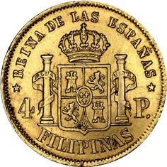 Philippine Peso, Lily Chee, Filipiniana, Gold Money, Cool Photos, Interesting Photos, Spanish Culture, Coin Collecting, Gold Coins
