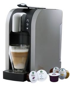 Verismo, Starbucks's new single-cup espresso and coffee machine. (Starbucks)....WANT