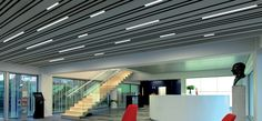 Hunter Douglas Introduces Linear LED-luminaire for Luxalon® Multi-Panel Ceiling system