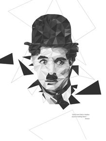 CHAPLIN IN POLY STYLE