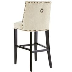 Gorgeous Upholstered Bar Stools In The Kitchen Add The