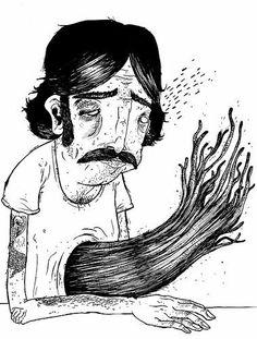 A man of music, poetry, and art. Illustration Sketches, Graphic Illustration, Portrait Art, Portraits, Keaton Henson, Art Sketchbook, New Art, Art Inspo, Cool Art