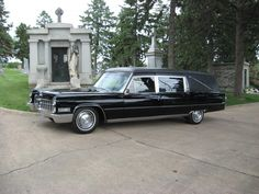 1966 Cadillac M&M Hearse