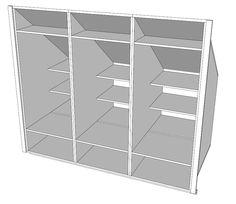 Inbouwkast onder schuin dak   Blog van Meubelatelier Geert Pinxten