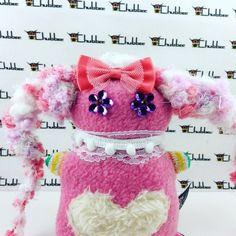 Sparkle, Chubbee, doll, plushie, handmade by LondonsKingdom on Etsy