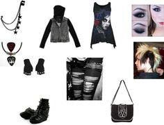 """""""girls night #2"""" by punk-jay ❤ liked on Polyvore"""