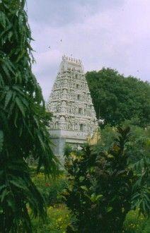 India. Junio 1988. Templo de Tamil Nadu