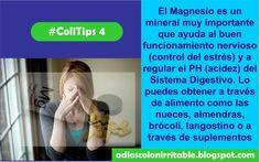 #ColiTips4: El magnesio es uno de los mejores suplementos para combatir el #ColonIrritable   Da el Primer Paso para aliviar las molestias de Colon Irritable, Descarga tu Informe gratuito aquí>>http://goo.gl/cfBz8A