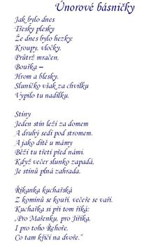básničky School Songs, Hana, Education, Onderwijs, Learning