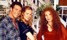 Marcus D'Amico, Laura Linney and Chloe Webb in Tales of the City