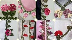 125 Tane Tığ Oyaları Yazma Kenarları Hepsi Birbirinden Güzel Baby Knitting Patterns, Crochet Flower Patterns, Crochet Art, Crochet Flowers, Thread Painting, Knitted Shawls, Knitting Socks, Bunt, Hand Embroidery