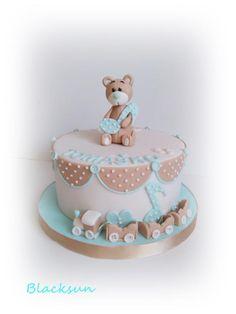 Christening cake by Blacksun