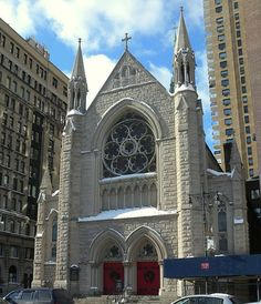 Holy Trinity Lutheran Church, New York City.  (The Ghostbusters Church)