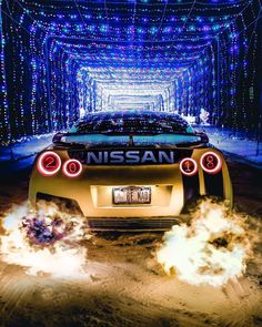 Who's Ready for Christmas? 😆 So Stoked that we hit I really can't wait t. by Exotic Super Cars 😈 Skyline Gtr, Nissan Skyline Gt R, Nissan Gt R, Nissan Gtr Nismo, Gtr R35, Godzilla, Nissan Gtr Wallpapers, Street Racing Cars, Auto Racing