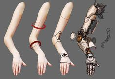 How to draw cybernetic arms [x-post /r/restofthefuckingowl] : Cyberpunk Art Cyberpunk, Cyberpunk Aesthetic, Cyberpunk Character, Drawing Reference Poses, Design Reference, Robots Drawing, How To Draw Robots, Arm Drawing, Drawing Step
