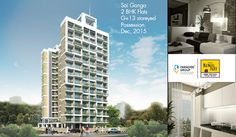 Book your dream home with Sai Ganga. It has 2 BHK flats. Possession: Dec, 2015 To know more about Sai Ganga log on to : www.paradisegroup.co.in