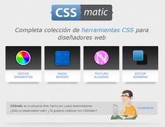 Herramientas CSS para diseñadores web