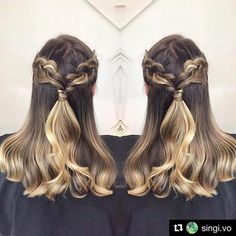 Braids and Balayage by @singi.vo