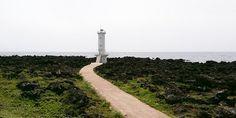 Lighthouse in Sehwa-ri, Pyoseon-myeon, Seogwipo-si, Jeju.