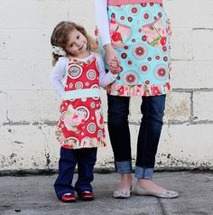 Mommy & Mia Apron Pattern