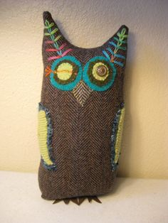 Hey, I found this really awesome Etsy listing at https://www.etsy.com/listing/172632062/upcycled-recycled-felt-wool-suit-sweater