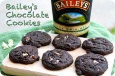 Bailey's Chocolate Cookies - An Irish treat perfect for St. Patrick's Day!! www.jessfuel.com